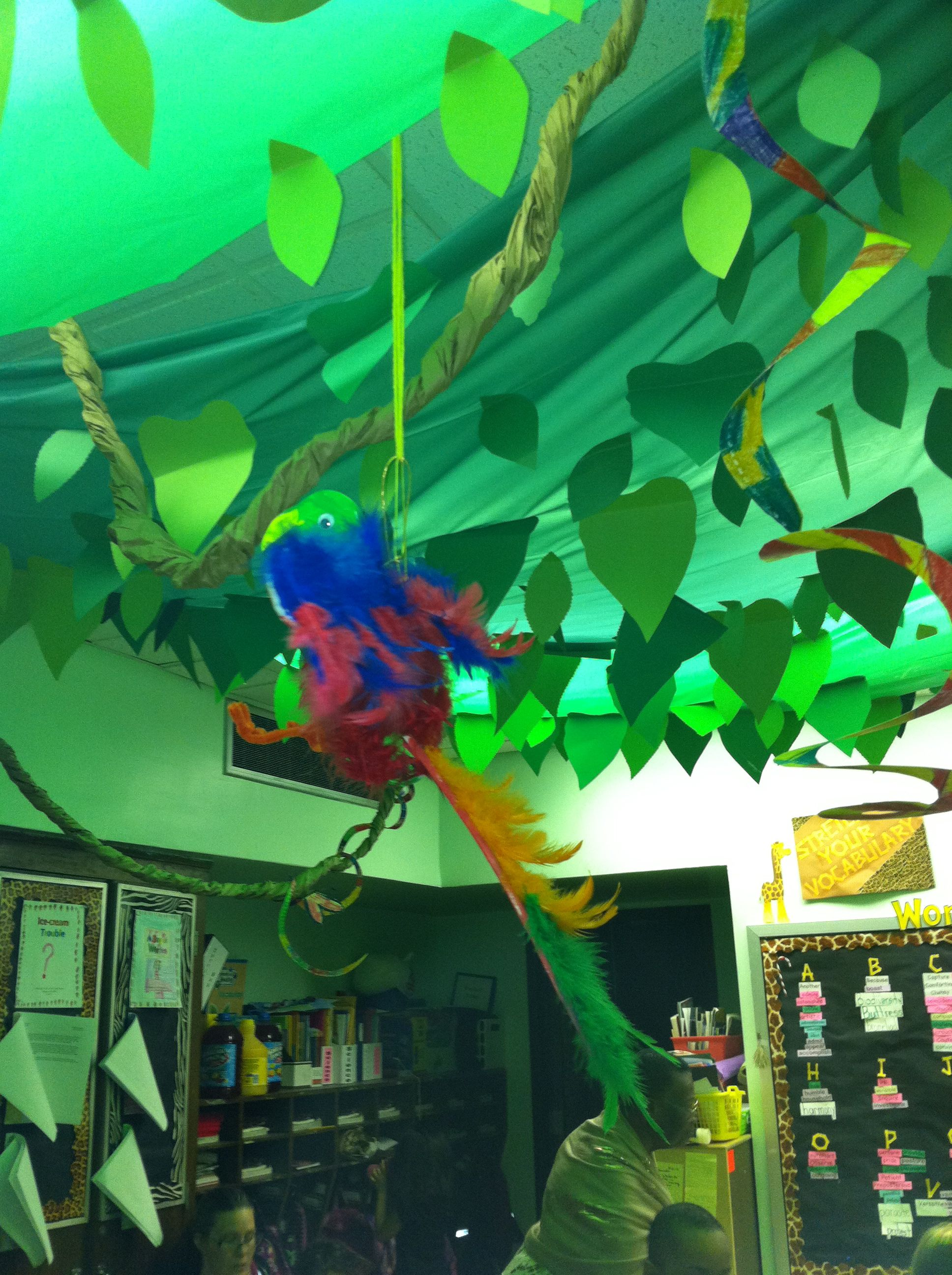 Classroom Decoration Jungle Theme ~ Cute classroom inspiration cristina celzo from bronx