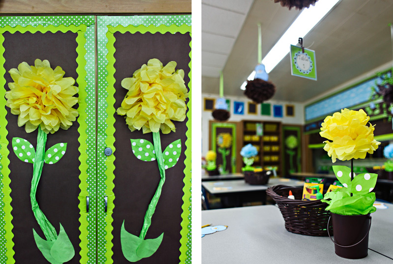 The best classrooms of 2012 by schoolgirl style color inspiration pinterest classroom - Plant decorating ideas tasteful nature ...