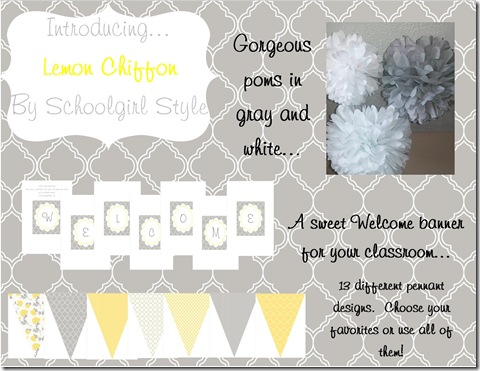 lemon chiffon blog board