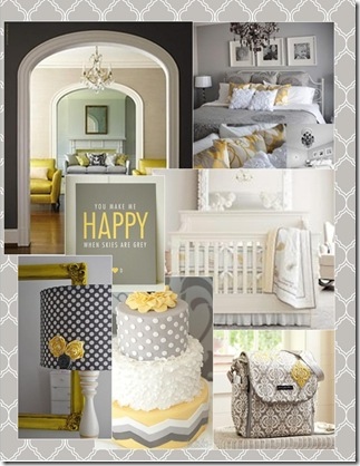 lemon chiffon inspiration board