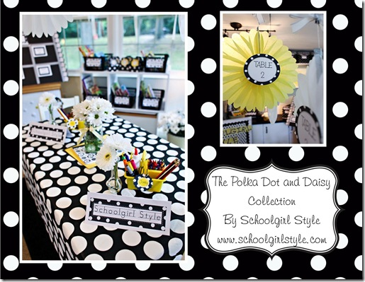 Polka Dot and Daisy Pinterest Ad 2