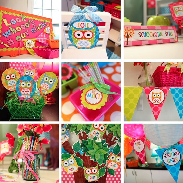 Owl Themed Classroom Decorations ~ The owl collection part two schoolgirlstyle