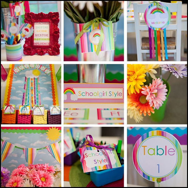 The Rainbow Collection Schoolgirlstyle