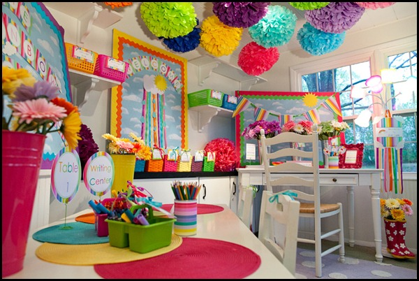 Classroom Decoration Colorful ~ The rainbow collection schoolgirlstyle