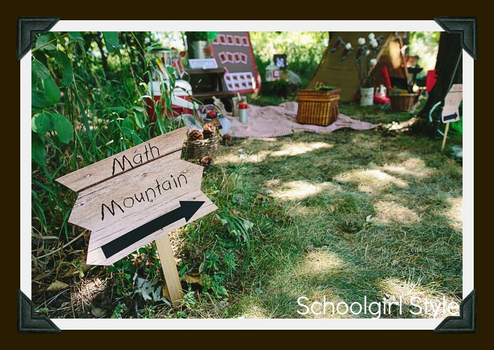 Camping Classroom Decorations ~ Introducing…camp learn a lot schoolgirlstyle