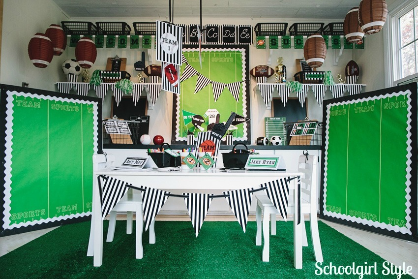 Sports Themed Classroom Decorating Ideas Part - 19: Eccampbellphotography_Schoolgirlstyle_sports02 ·  Eccampbellphotography_Schoolgirlstyle_sports16 ·  Eccampbellphotography_Schoolgirlstyle_sports20