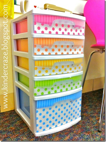 polka dot sterlite bins
