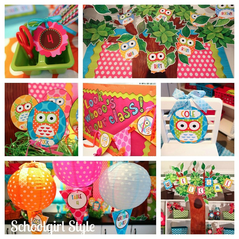 Classroom Decor Owls ~ The best classrooms of by schoolgirl style color