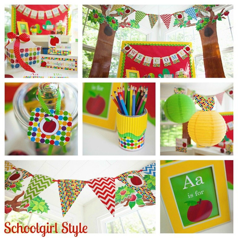 Primary Classroom Decoration Ideas ~ Classroom decorating trends for schoolgirlstyle