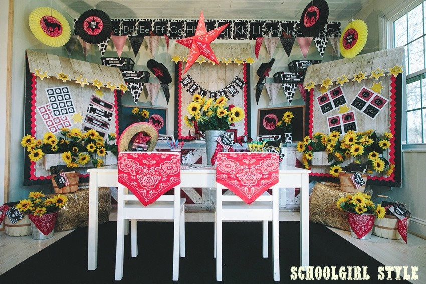 Classroom Decoration Theme Ideas Part - 25: Western 1