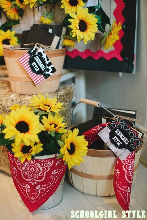 Classroom Decoration Ideas For Party ~ Wild western classroom theme schoolgirlstyle
