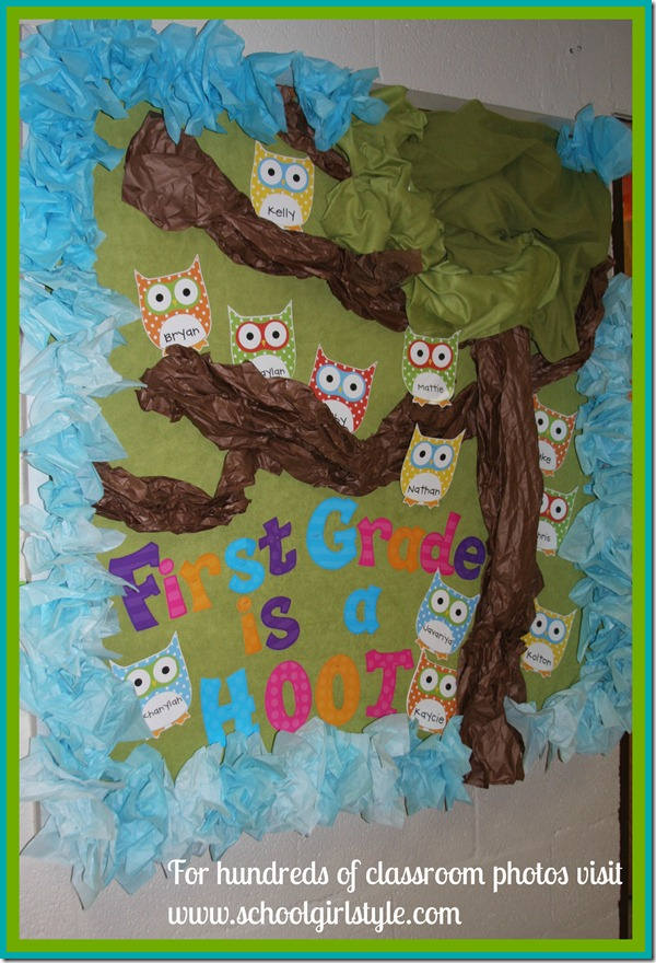Classroom Bulletin Board Ideas With Owls ~ Cute classroom inspiration whitney kelly schoolgirlstyle