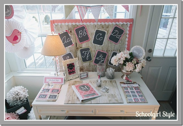 Schoolgirl_Style054vintage chic pink classroom theme  2