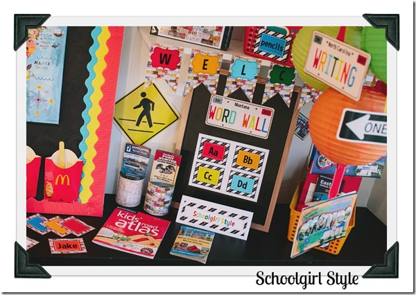 Classroom Decor by Schoolgirl Style Road Trip22