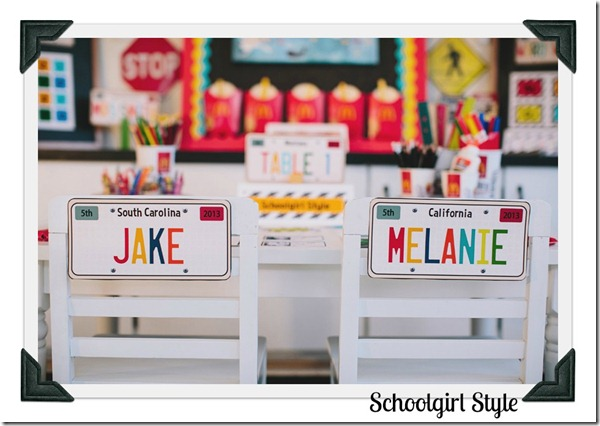 Classroom Decor by Schoolgirl Style Road Trip8