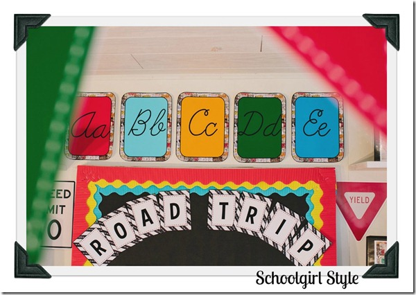 Classroom Themes by Schoolgirl Style Road Trip 23