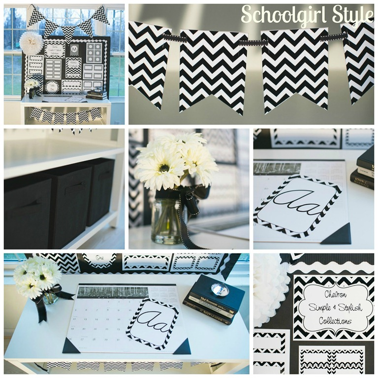Chevron Chic Classroom Collections