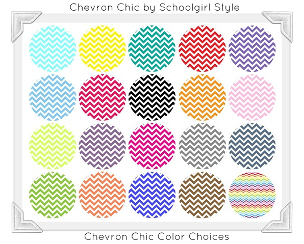 Chevron Chic Color Choices