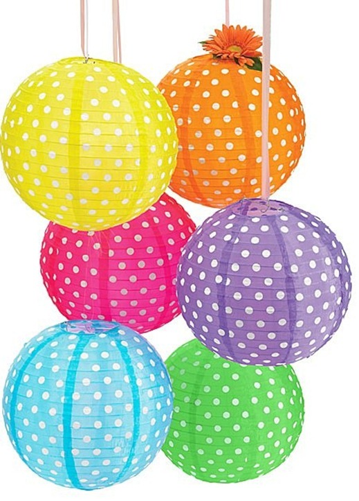 PolkaDotPaperLanterns