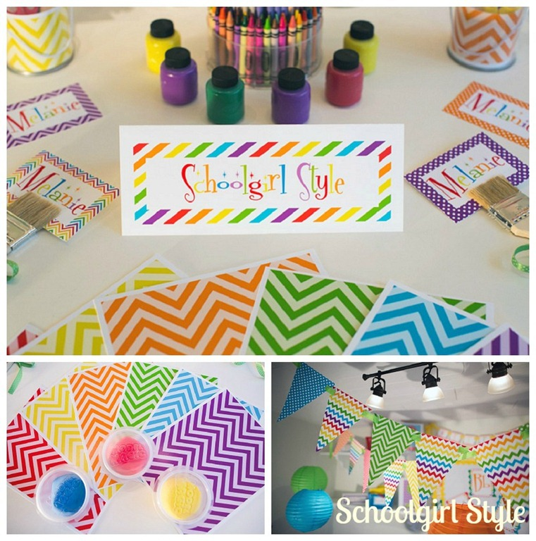 Learn colorfully classroom decor schoolgirlstyle for Art and craft for classroom decoration
