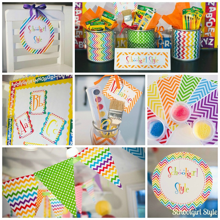 Classroom Theme Ideas Grade ~ Learn colorfully classroom decor schoolgirlstyle