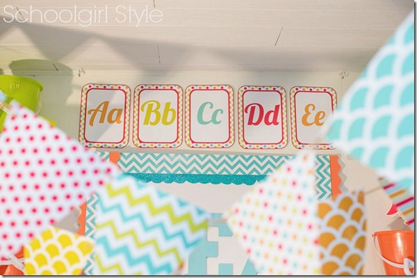 Chevron Ocean Beach Decorations by Schoolgirl Style