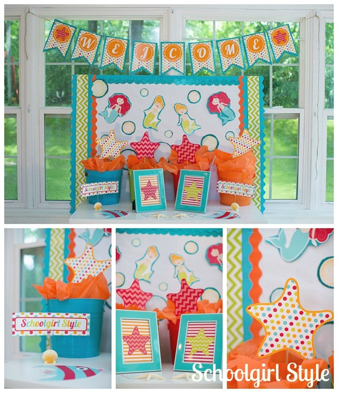 Classroom Decoration Ocean ~ By the sea schoolgirlstyle