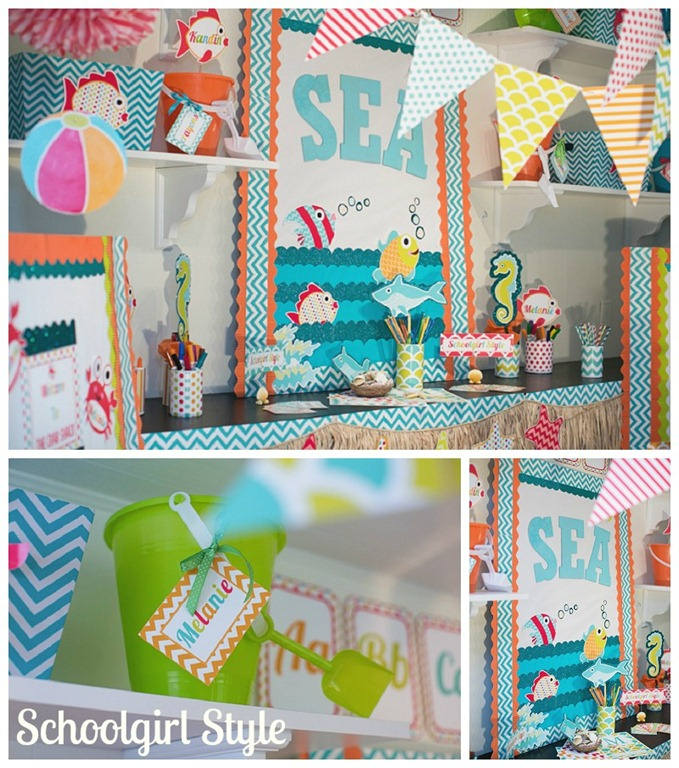 Classroom Decorating Ideas Ocean Theme ~ By the sea schoolgirlstyle