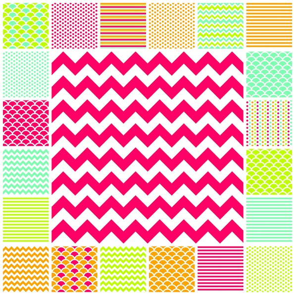 Ocean Beach theme classroom decoration decor papers by Schoolgirl Style