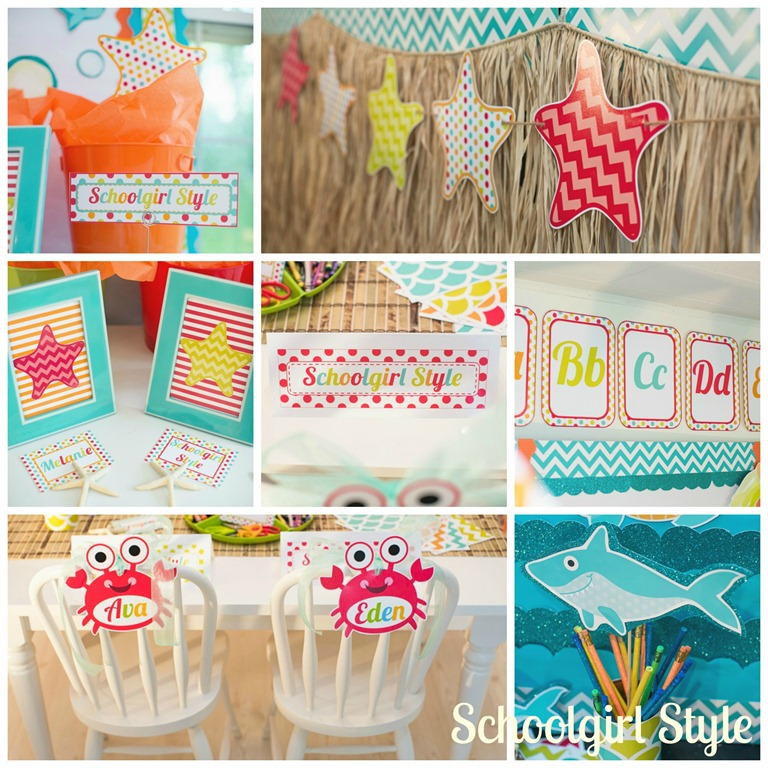 ocean decorations theme decor by schoolgirl style - Ocean Decor