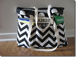 large Teacher Tote Deluxe
