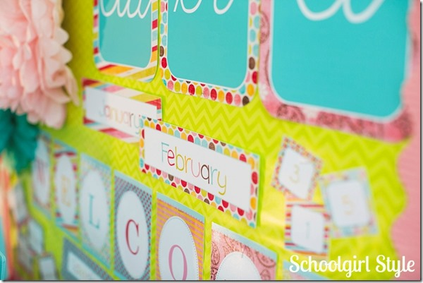 SchoolgirlStyle_summersoiree33 classroom decorations bulletin boards