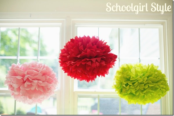 SchoolgirlStyle_summersoiree61 pretty poms decor party