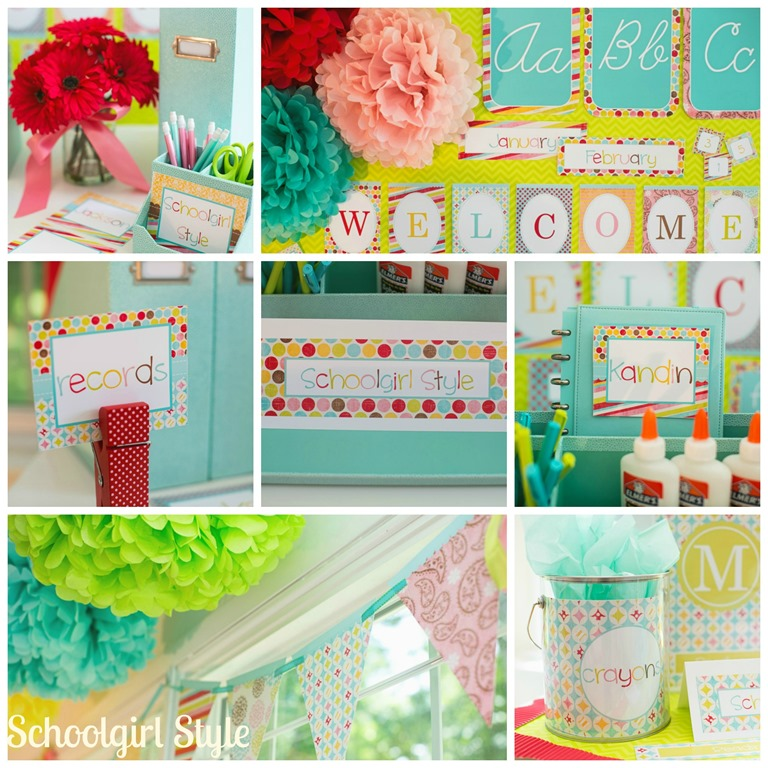 Summer Themed Classroom Decorations ~ Summer soiree schoolgirlstyle