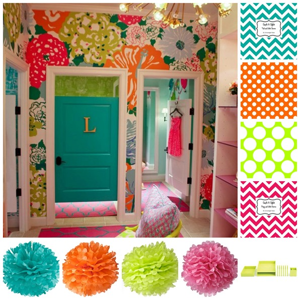 Lily Pulitzer Inspired Classroom