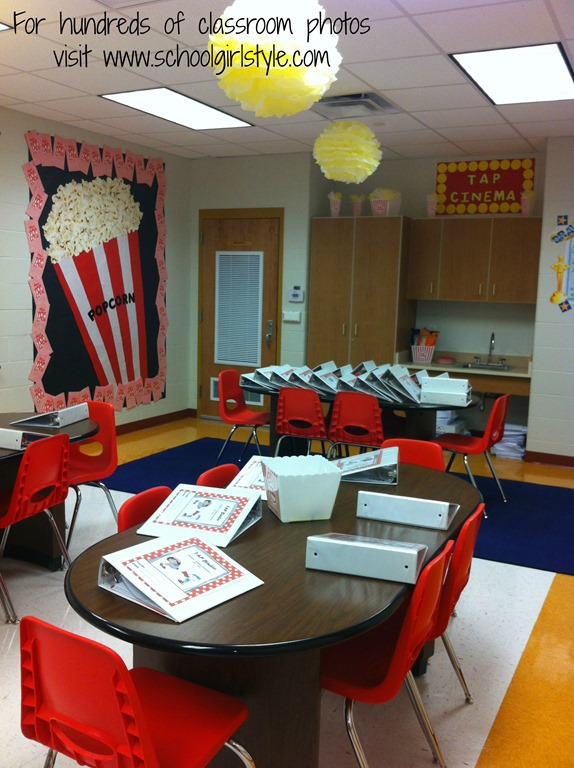 Hollywood Classroom Decor ~ Hollywood classroom theme schoolgirlstyle