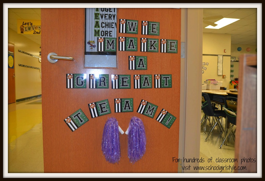 Classroom Decorating Ideas Olympic Theme ~ Sports theme classroom inspiration schoolgirlstyle