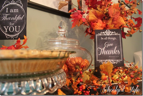 Thanksgiving 2013 012 free printables from Schoolgirl Style