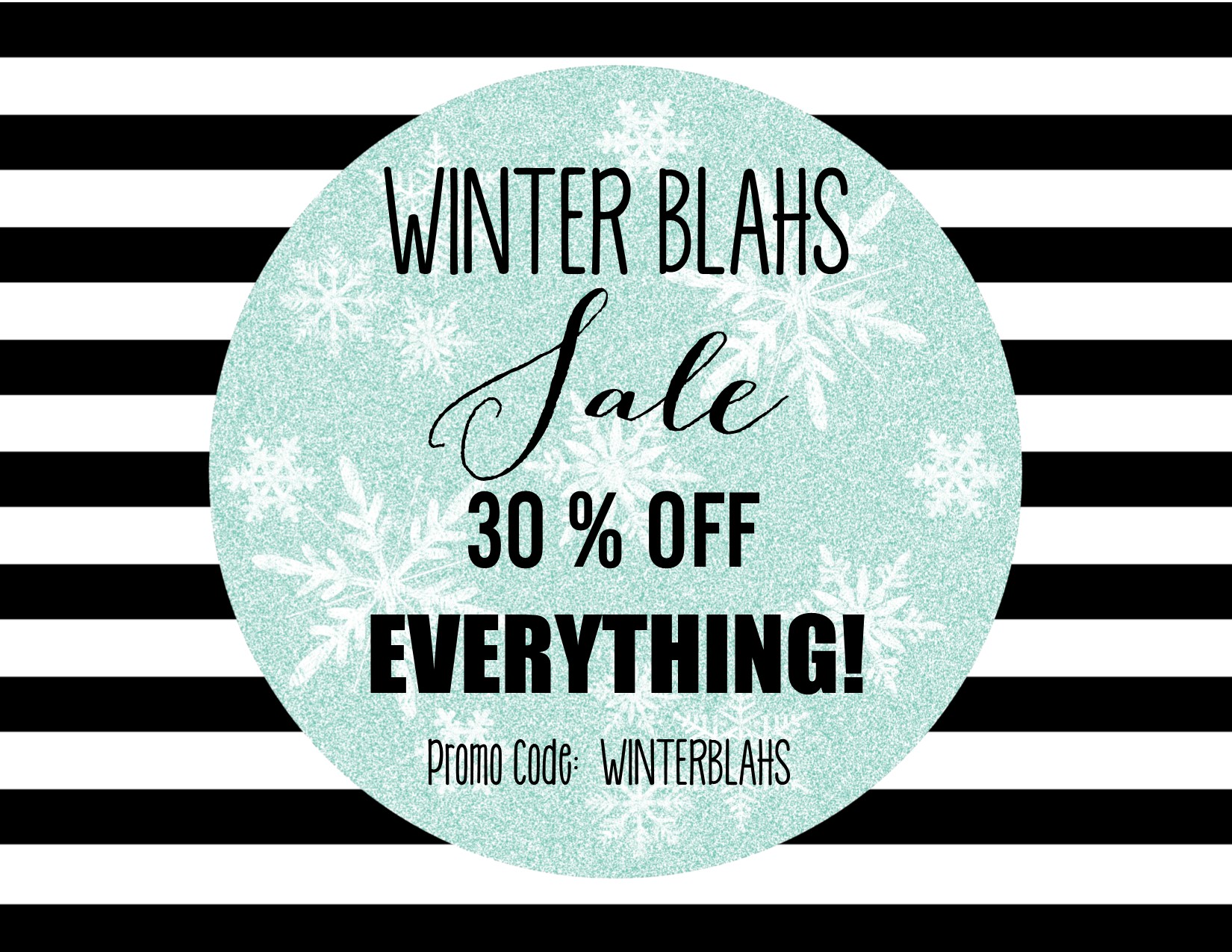 winter blahs sale