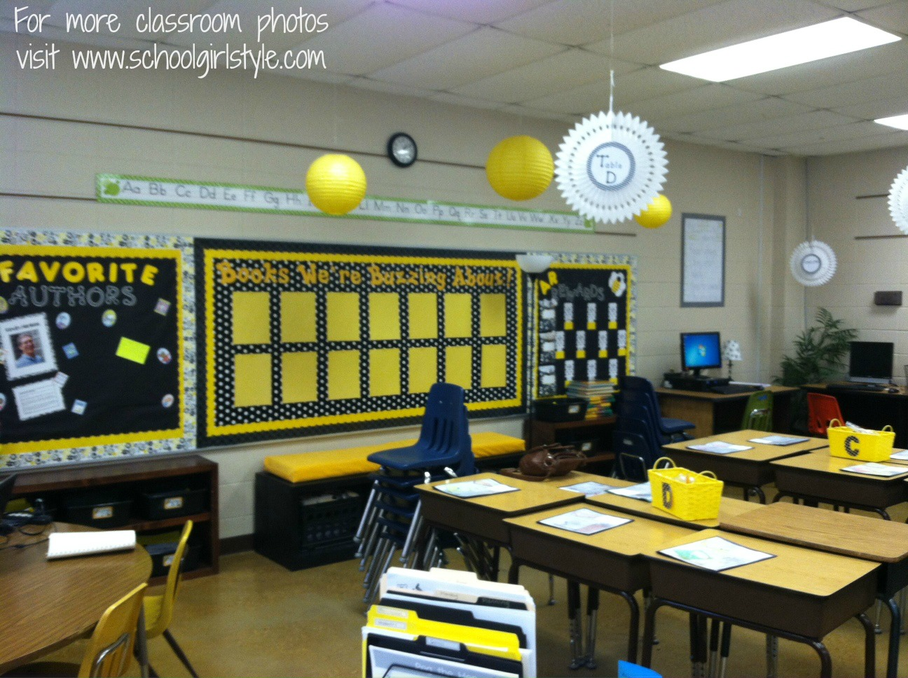 Classroom Decor Black And White ~ Black and white theme classroom pictures to pin on