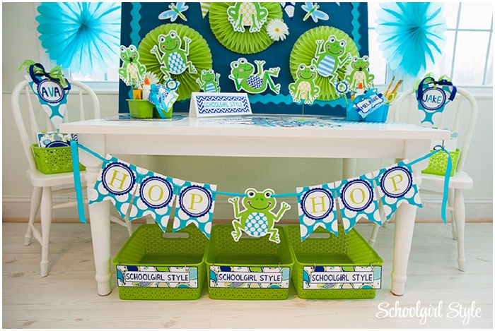 Frog Classroom Decoration Ideas ~ Fabulous frogs classroom theme schoolgirlstyle