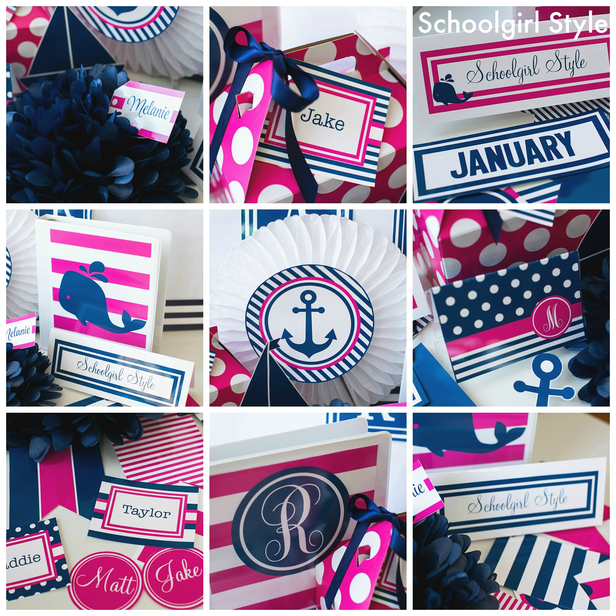 Classroom Decor Nautical ~ Preppy nautical classroom theme schoolgirlstyle