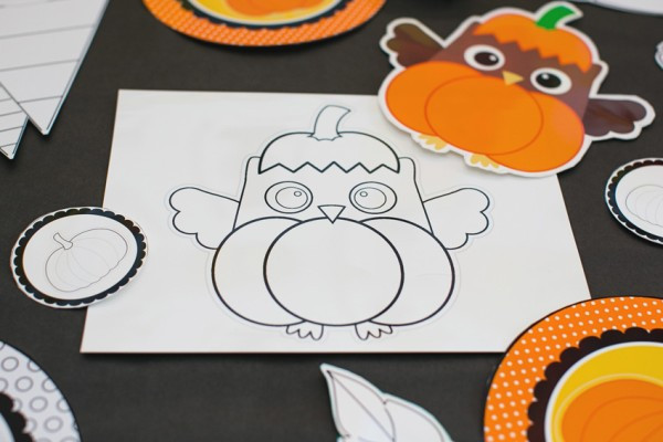 Autumn Apple and Owl Crafts
