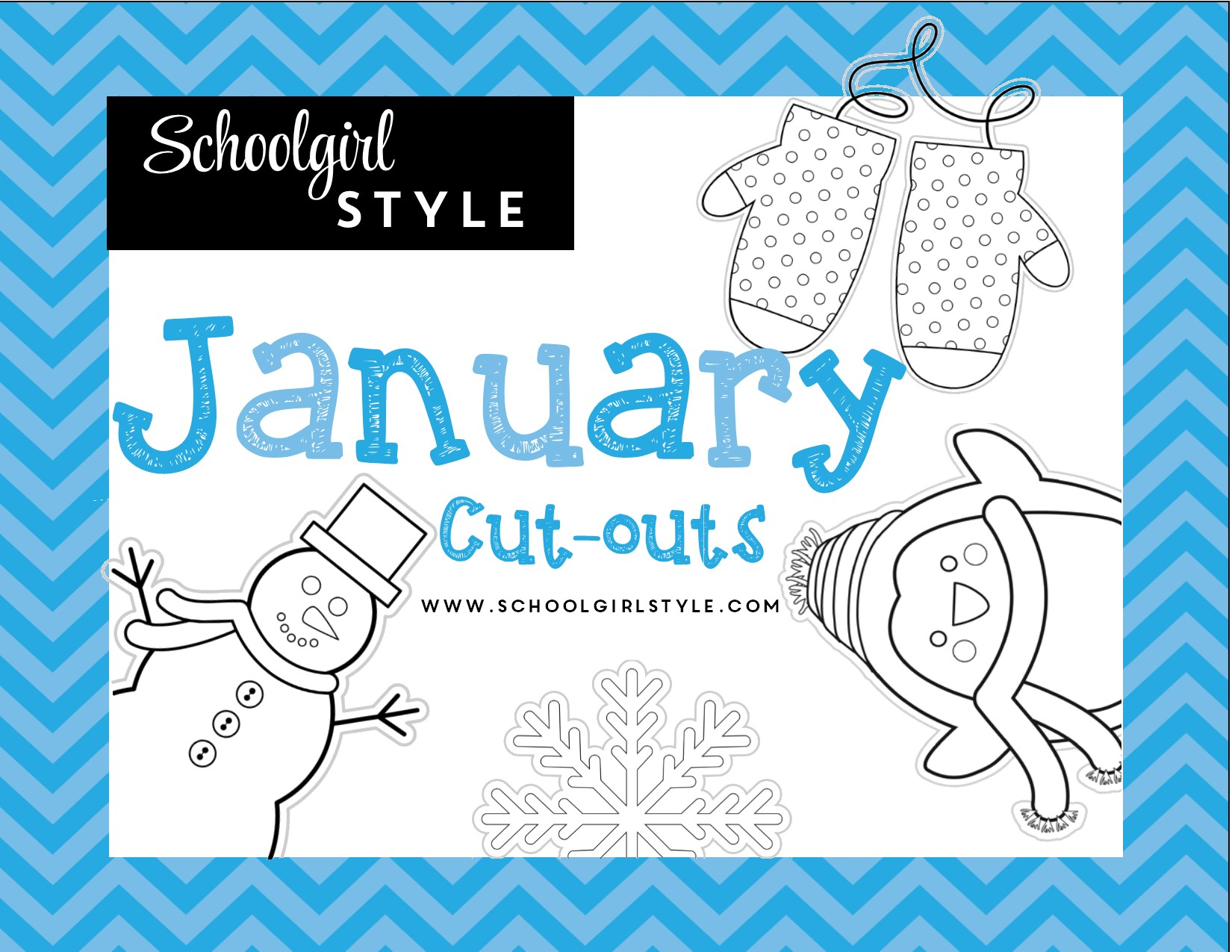 January cutouts