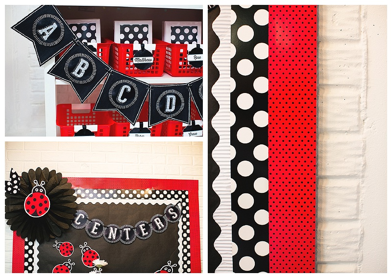 Black And White Classroom Decoration ~ Schoolgirlstyle