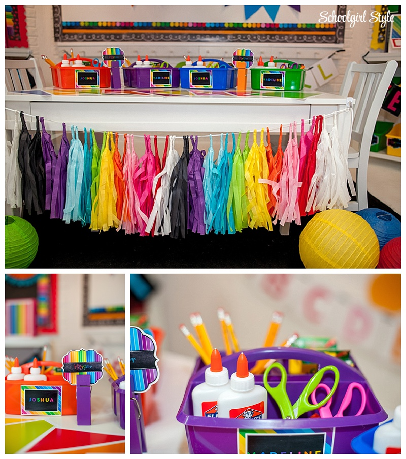 Rainbow Themed Room: SchoolgirlStyle