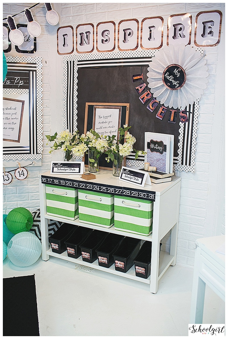 Classroom Decor Instagram ~ Industrial chic classroom decor collection schoolgirlstyle