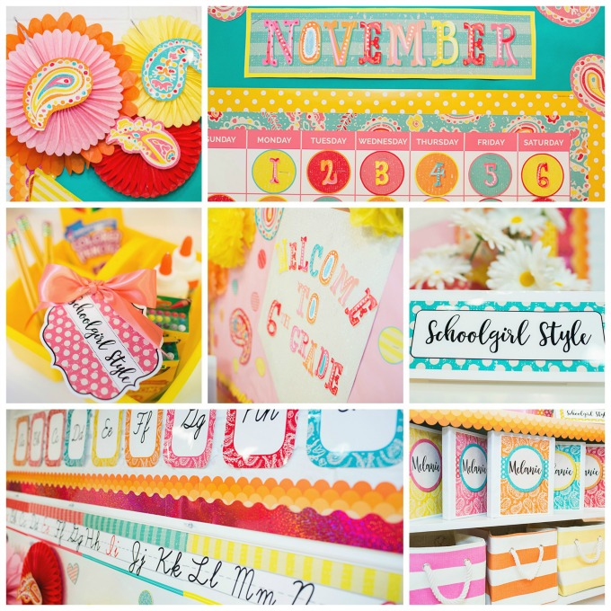 Under the Boardwalk Classroom Decor by Schoolgirl Style