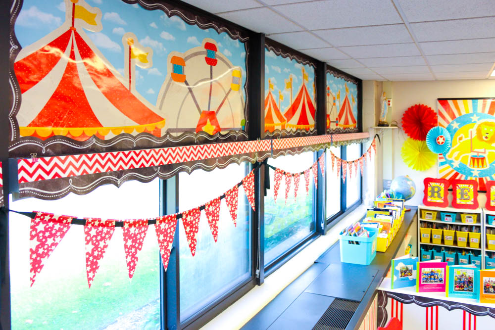 Circus Classroom Decoration ~ Quot vintage circus classroom decor collection schoolgirlstyle